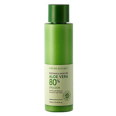 Nature Republic Soothing & Moisture Aloe Vera 80% Emulsion 160ml Freebie