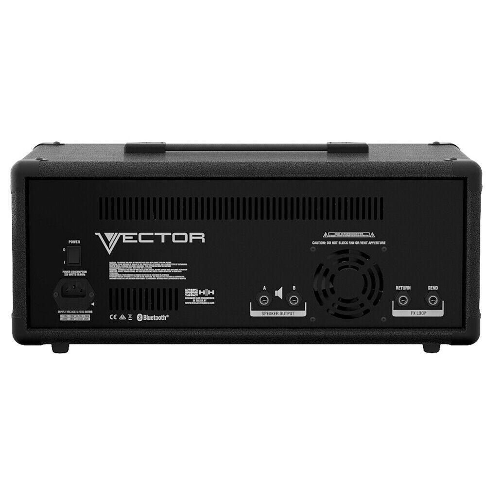 HH Electronics VRH-600 600-Watt, 8 Channel Mixer Amplifier W/ 5 Band Master EQ - $279.99