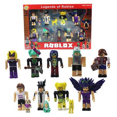 Legends of Roblox Mini Toys Figures Playset PVC Game Kids Children Gift 9Pcs/Set