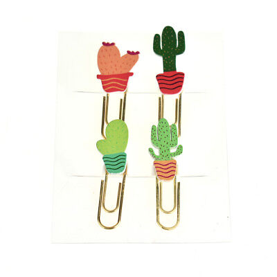 - Potted Cactus Paper Clips, 4-Piece