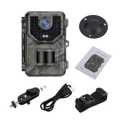 16MP 1080p Jagd Kamera + 16GB Karte + 2St Wildfarm Trail Kameras Extra