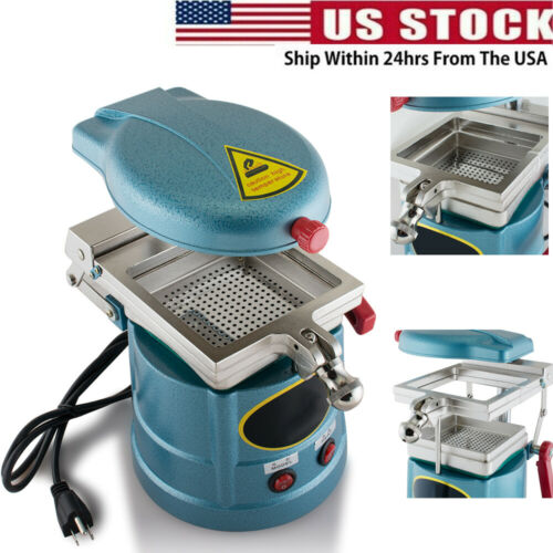 Dental Lab Vacuum Forming Molding Machine Former Heat Thermoforming Equipment A+
