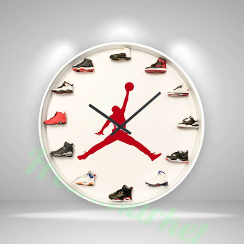 "New Handcrafted 12"" 3D Jordan 12 Sneakers clock OFF white nike supreme yeezy"