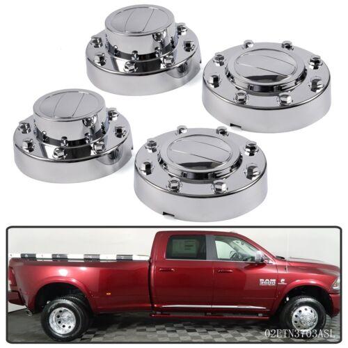 NEW 2011-2018 DODGE RAM 3500 Dually 1-ton Truck Alcoa Wheel Center Hub Caps SET