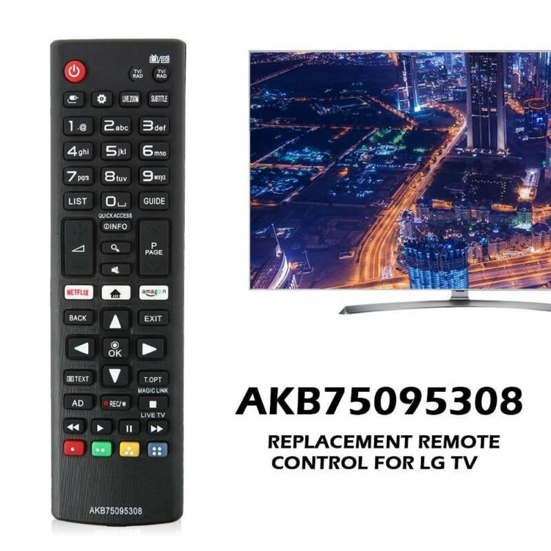 Topiky Reemplazo de Control Remoto para LG AKB75095304 AKB75095305 AKB75095306 AKB75095308 AKB750953 Smart TV