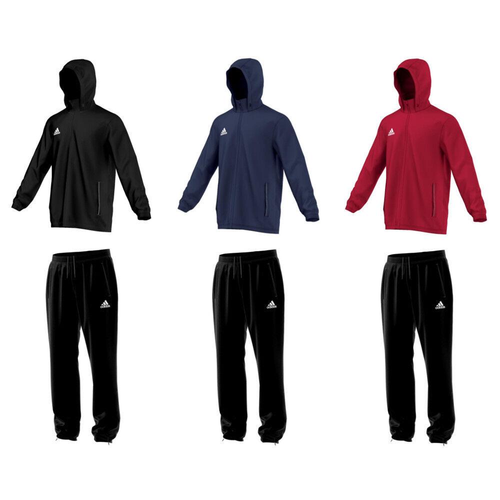 adidas Core 15 Regenjacke Trainingsjacke Funktionsjacke oder Regenhose Rain Pant