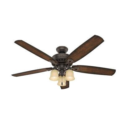 Hunter Fan Company Rockledge 60-Inch Ceiling Fan with 3 Ligh