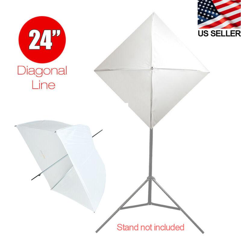 """24"""" Umbrella Softbox White/ White Premium Shoot through Light Modifier"""