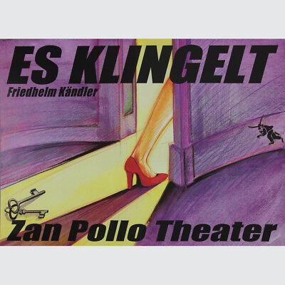 Friedhelm Kändler. Es Klingelt. Zan Pollo Theater.