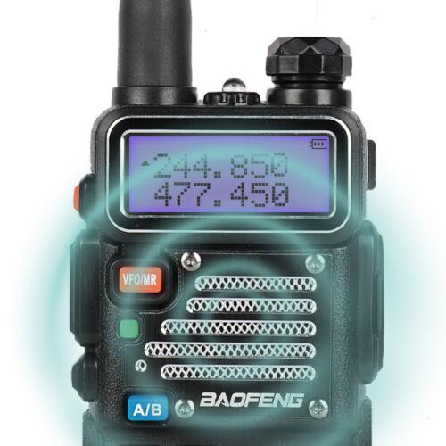 Baofeng UV-5RX3 Tri-Band VHF UHF *UV-5R III Upgraded* Two way Radio + Free Cable