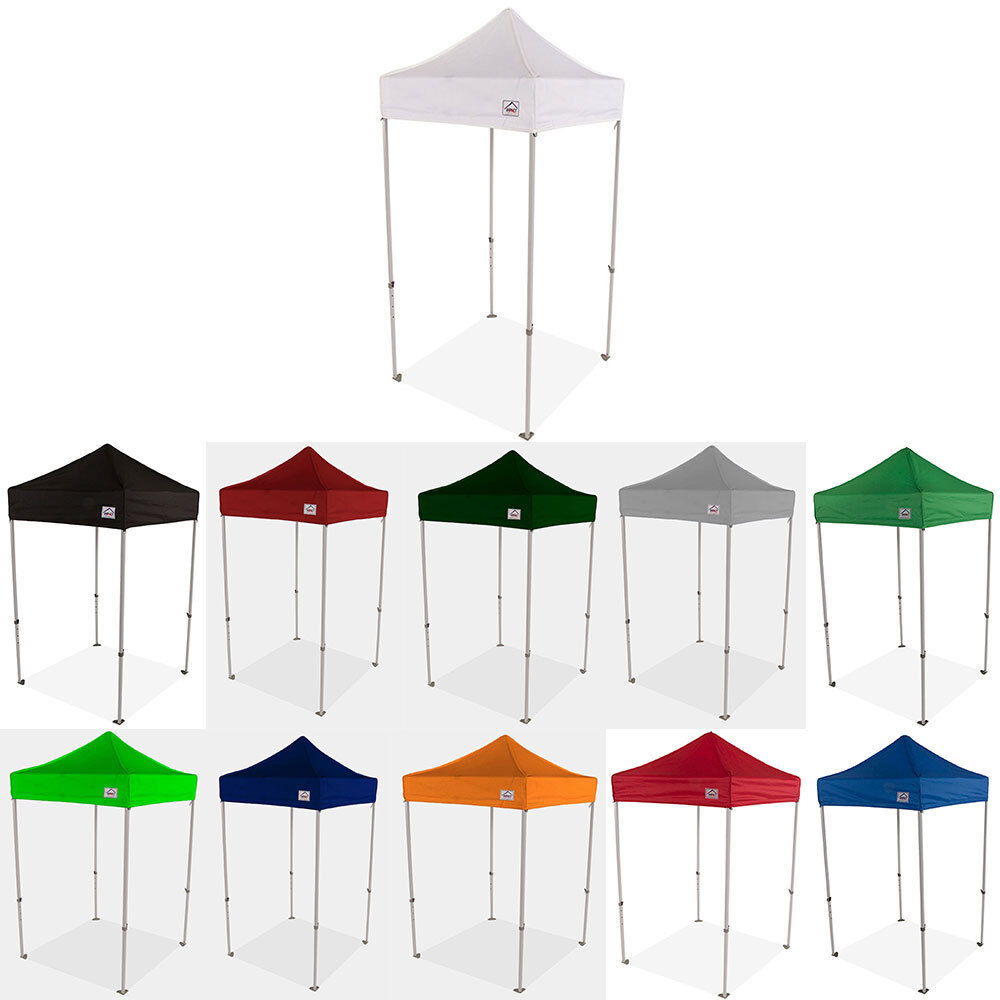 5X5 EZ Pop Up Canopy Tent Sun Shade Vendor Display Booth She