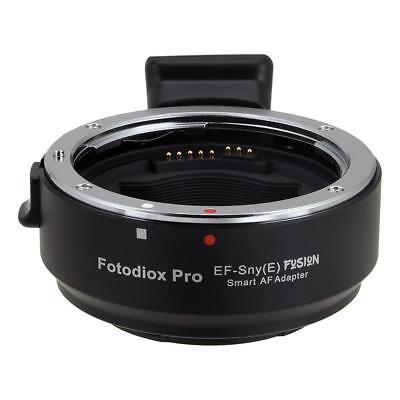 Fotodiox Pro Fusion Auto Adapter: Canon EOS Lens to Sony Alpha E-Mount Camera