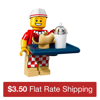 71018 LEGO Collectible Minifigure Series 17 | Hot Dog Man | Used