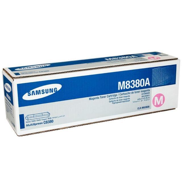 original Samsung CLX-M8380A MultiXpress C8380 Toner magenta neu B