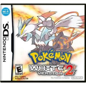 NEW Pokemon White Version 2 - Nintendo DS Standard Edition Condtion: New, No retail packaging