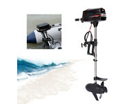 48V 2.2KW Electric Outboard Motor Inflatable Fishing Marine Boat Engine