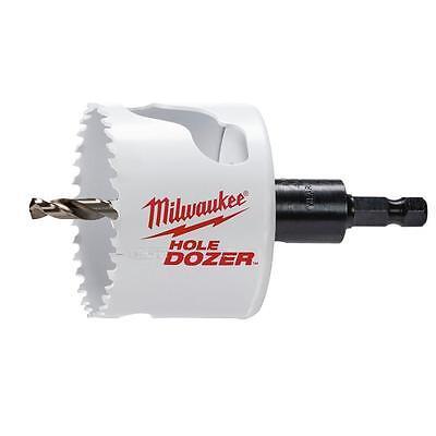 Milwaukee 49-56-9669 2-12 In. Dozer Bi-metal Hole Saw 38 In. Arbor