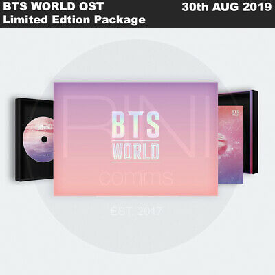 BTS WORLD OST Limited Edtion Package CD+ManagerIDCASE+Card+Magnet+Etc+Tracking N