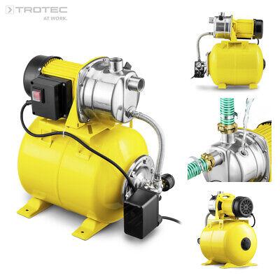 Grafner® Hauswasserwerk Gartenpumpe 1200W 25L Pumpe Wasserwerk Druckkessel 3800L