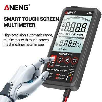 Aneng Digital Multimeter Auto Range 618c Ac Dc Analog Bar True Rms Tester Meter