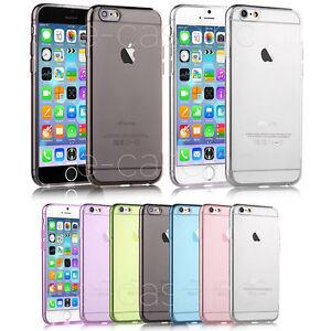 Custodia-Cover-Paraurti-GEL-SILICONE-TPU-per-iPhone-7-Pellicola-Frontale