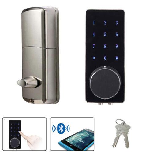 Bluetooth Intelligent Touch Password Keypad Code Door Lock