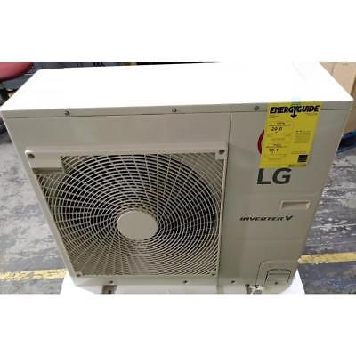 LG LC187HV/LUU187HV 1-1/2 TON MINI-SPLIT HEAT PUMP SYSTEM R-410A 20 SEER