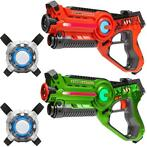 Light Battle Active Laserguns + 2 Lasergame Vesten - 2 Pack