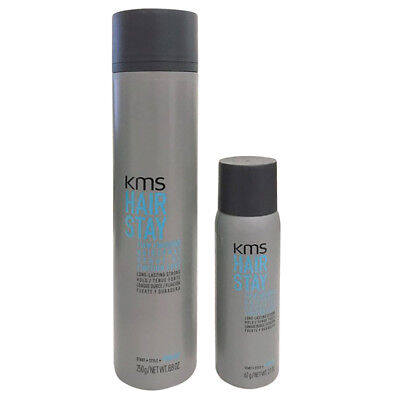 KMS Hair Stay Firm Finishing Spray 8.8 oz + 2.1oz -SET for sale  Shipping to India