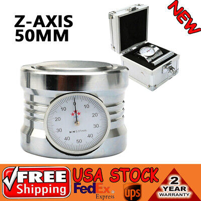 New Magnetic Z Axis Dial Zero Pre Setter Tool 2 Height Gage Offset Cnc Mrill