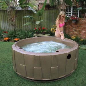 Looking to rent a plug and play hot tub for a month or longer