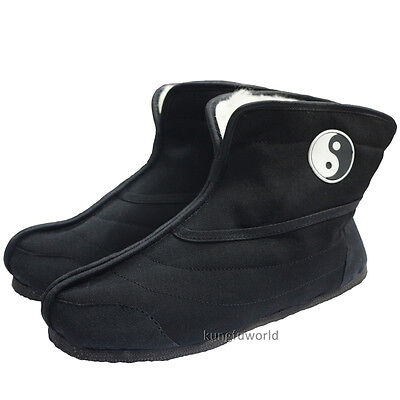 Wudang Taoist Winter Boots Tai chi Kung fu Sneakers Martial arts Sports Shoes Kung Fu Boots