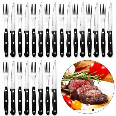 DEUBA® 24tlg. Steakbesteck Steak Messer Gabel Grillbesteck Besteck Set Edelstahl