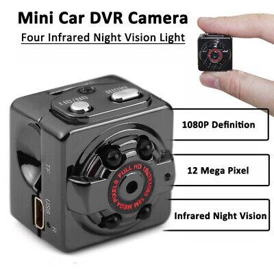 Mini cámara espía IP HD 1080P Oculto Visión nocturna Seguridad de hogar...