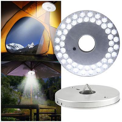 Portable Camping Outdoor Hiking Light Tent Umbrella Night Lamp Lantern 48 LED US