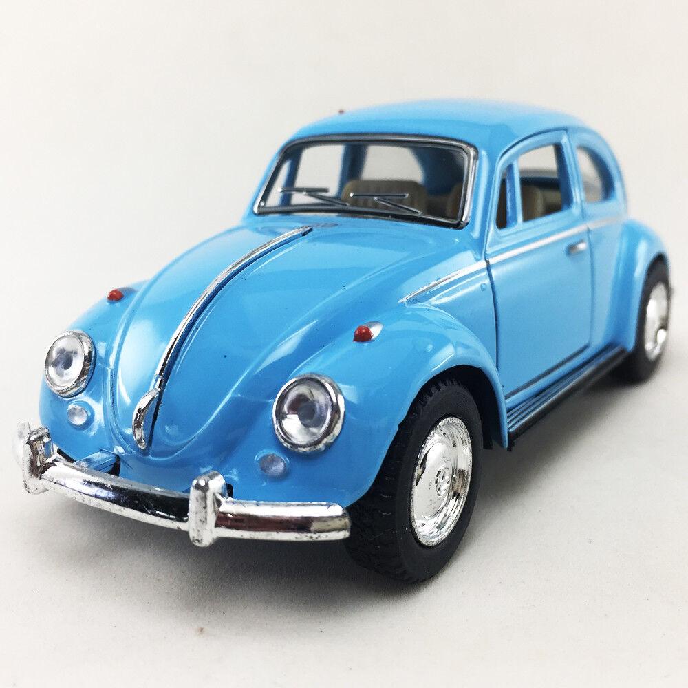 Kinsmart 1967 Classic VW Volkswagen Beetle Bug 1:32 Diecast Toy Car Blue