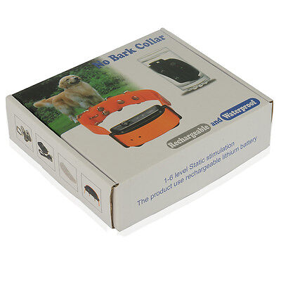 Waterproof Rechargeable Pet Anti Bark No Barking Small Dog Shock Training Collar