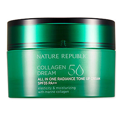 Nature Republic Collagen Dream 50 All In One Radiance Tone Up Cream SPF35PA++