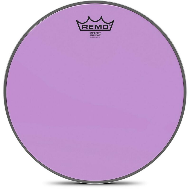 Remo Emperor Colortone Purple Drum Head 12 in.