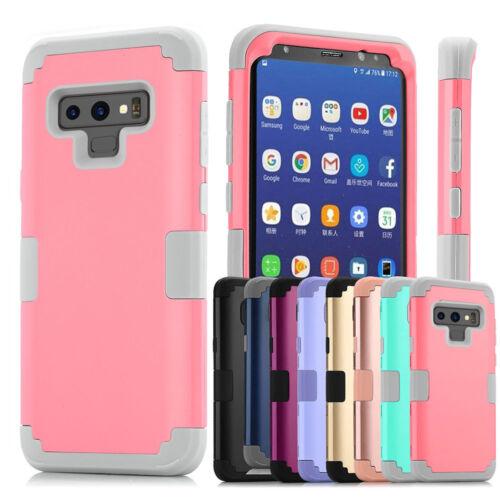Protective Hybrid Shockproof Hard Case Cover For Samsung Gal
