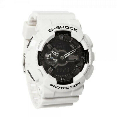 Casio GA-100B-7AER G-Shock Men Watch - Black and white Fast And Free Delivery UK