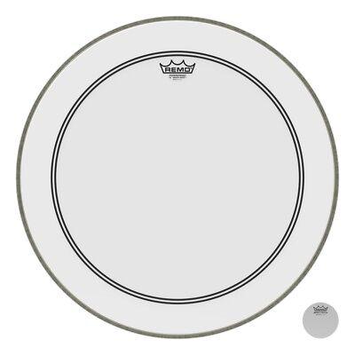 Remo Powerstroke 3, Smooth White, 22 Diameter, 2-1/2 Impact Patch