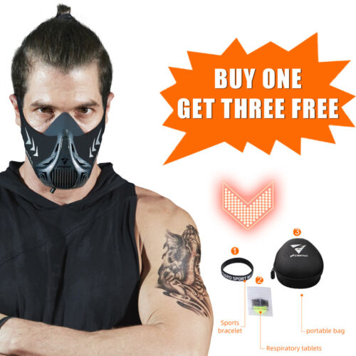 Workout Running Elevation Cardio Endurance Mask Fitness training sports mask 3.0