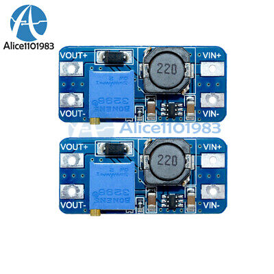 2pcs Mt3608 Dc-dc Step Up Power Apply Module Booster Power Module 2a For Arduino