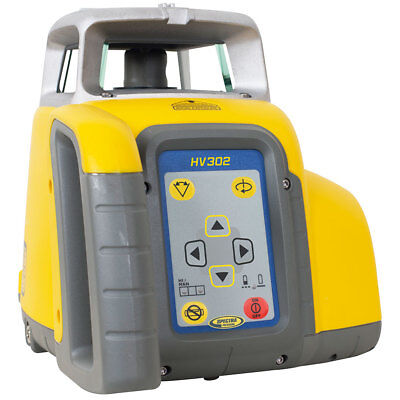 Spectra Hv302-7 Contractors Self-levling Laser Level Kit W Receiver