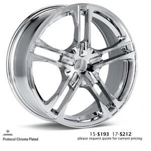 Verde wheels, Protocol (Chrome Plated)