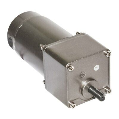 Dc 12 24 90v Gearbox Motor 120w 6600rpm Speed Optional Cw Ccw Adjustable Speed