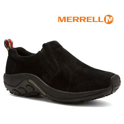 Suede Slip On Shoes (Mens Merrell Jungle Moc Slip-on MIDNIGHT Suede Comfy Men Shoes All Sizes NIB )