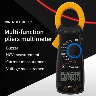 Digital Clamp Meter Multimeter Current Ac Dc Voltmeter Auto Range Volt Tester Us