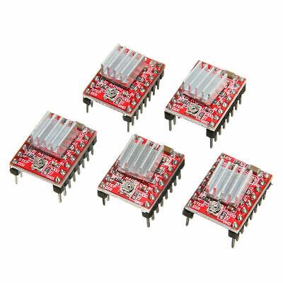 5pcs A4988 3d Printer Stepper Motor Driver Module Stepstick For Pololu Reprap